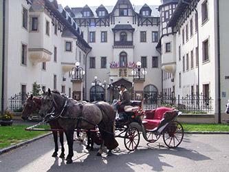 ČESKÁ REPUBLIKA – MARIÁNSKÉ LÁZNĚ – HOTEL CHATEAU MONTY SPA RESORT